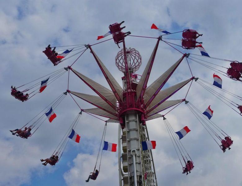 # En France aussi : La fête des Tuileries