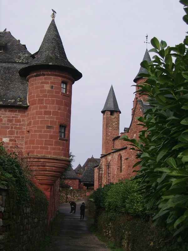 collonges la rouge Correze escapades amoureuses