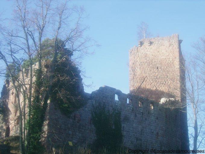 # En France aussi : le château du Kagenfels. (concours inside)