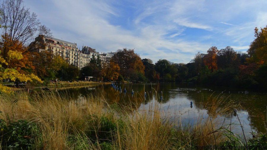 Paris : l'automne au Parc Montsouris