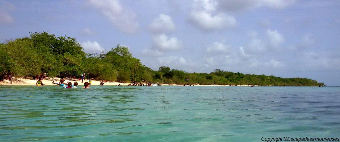 Guadeloupe plage du souffleur port Louis