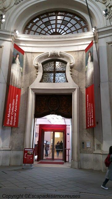 L'entrée du musée de Sisi