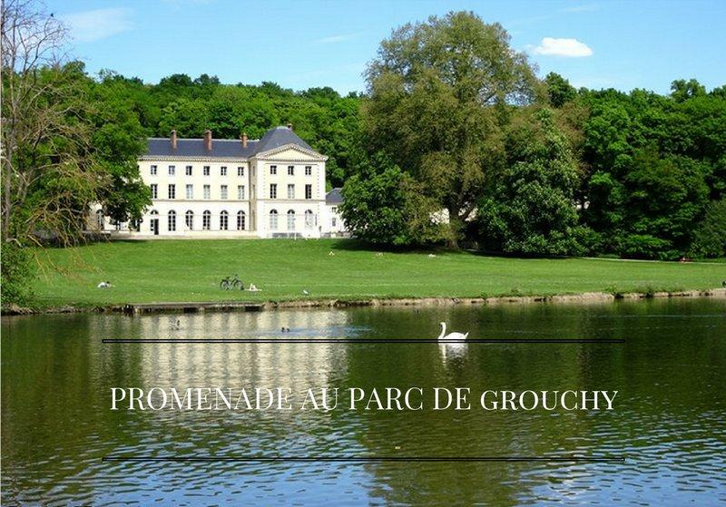 Promenade au Parc du château de Grouchy