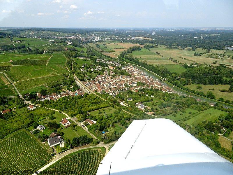 Cosne-sur-Loire Nièvre-tourisme bapteme de l'air