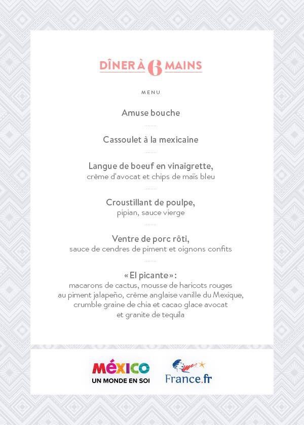 Diner à 6 mains restaurant A Noste