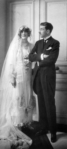 mariage du baron et baronne Gourgaud