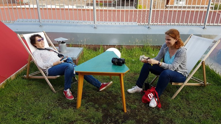 Roubaix la condition publique Yes we campRoubaix la condition publique Yes we camp
