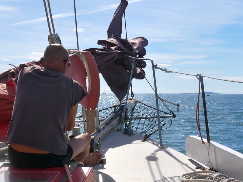 sortie en mer voiles auriques Sète
