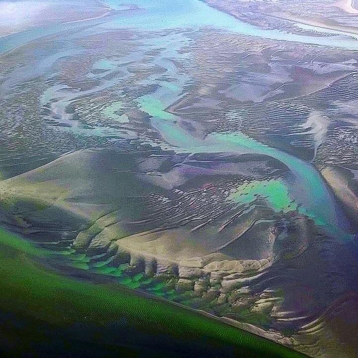 baie de somme vue de drone