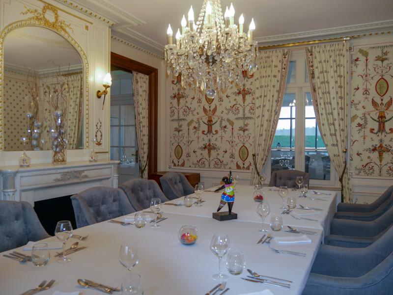 Château de Breuil restaurant chambres d'hôtes