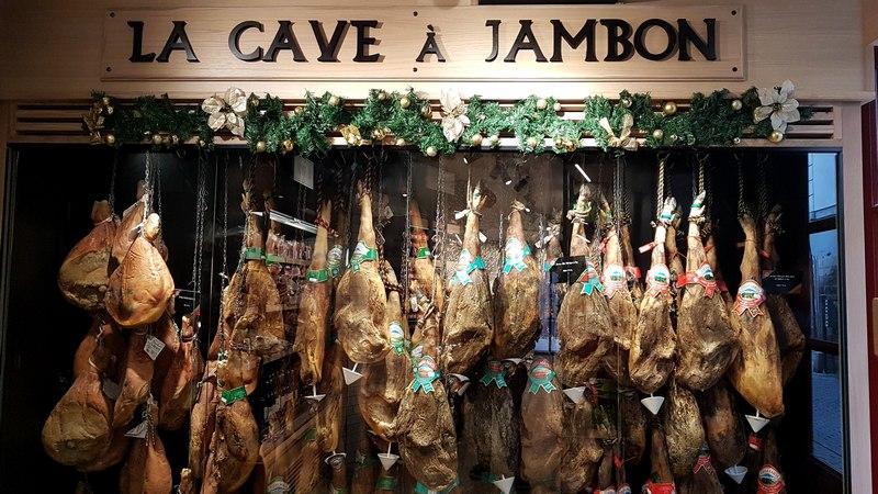 cave à jambon à Bayonne