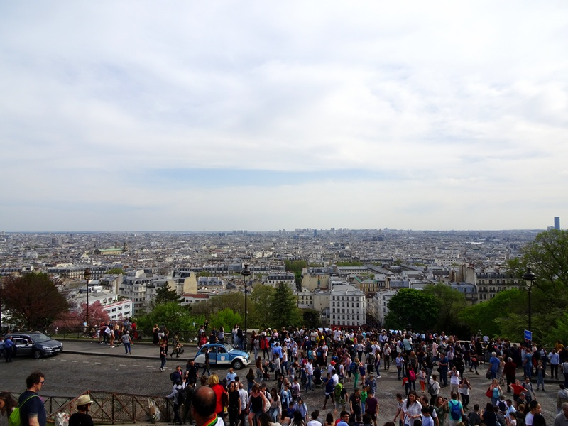 une journée à Montmartre escapades amoureuses restaurant la bonne franquette Vue sur Paris