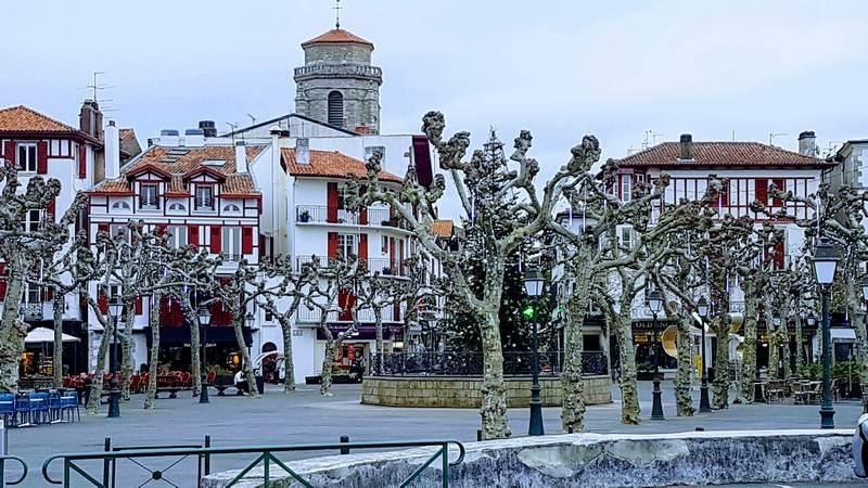 Au centre-ville de Saint-jean de Luz