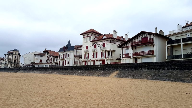 Les jolies maisons de Saint-Jean-de-Luz