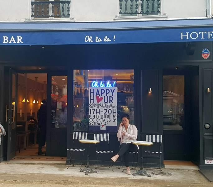 OH LA LA BAR HOTEL PARIS BASTILLE ESCAPADES AMOUREUSES