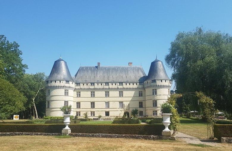 Un après-midi au Château de l'Islette.