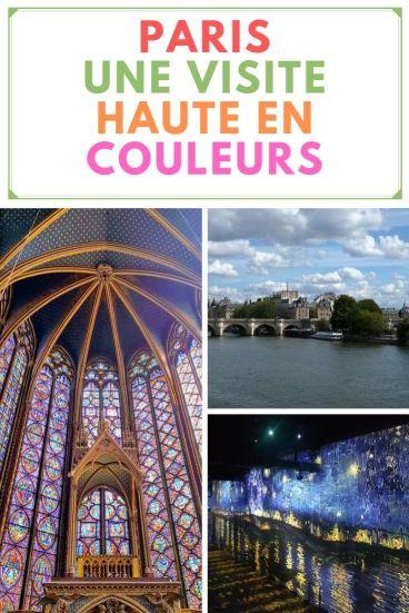 paris une visite haute en couleurs Atelier des lumières  sainte-chapelle brasserie parisienne rues de paris