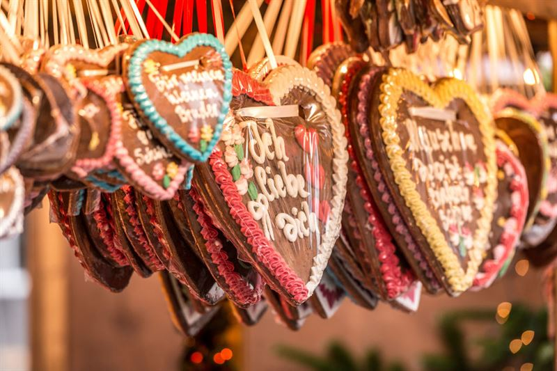 marché de Noël en Allemagne romantique