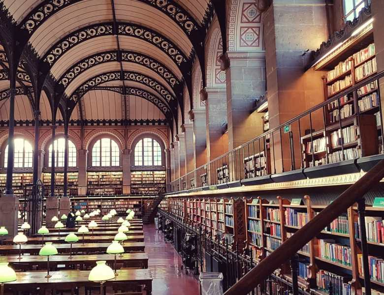 Des bibliothèques extraordinaires à visiter.
