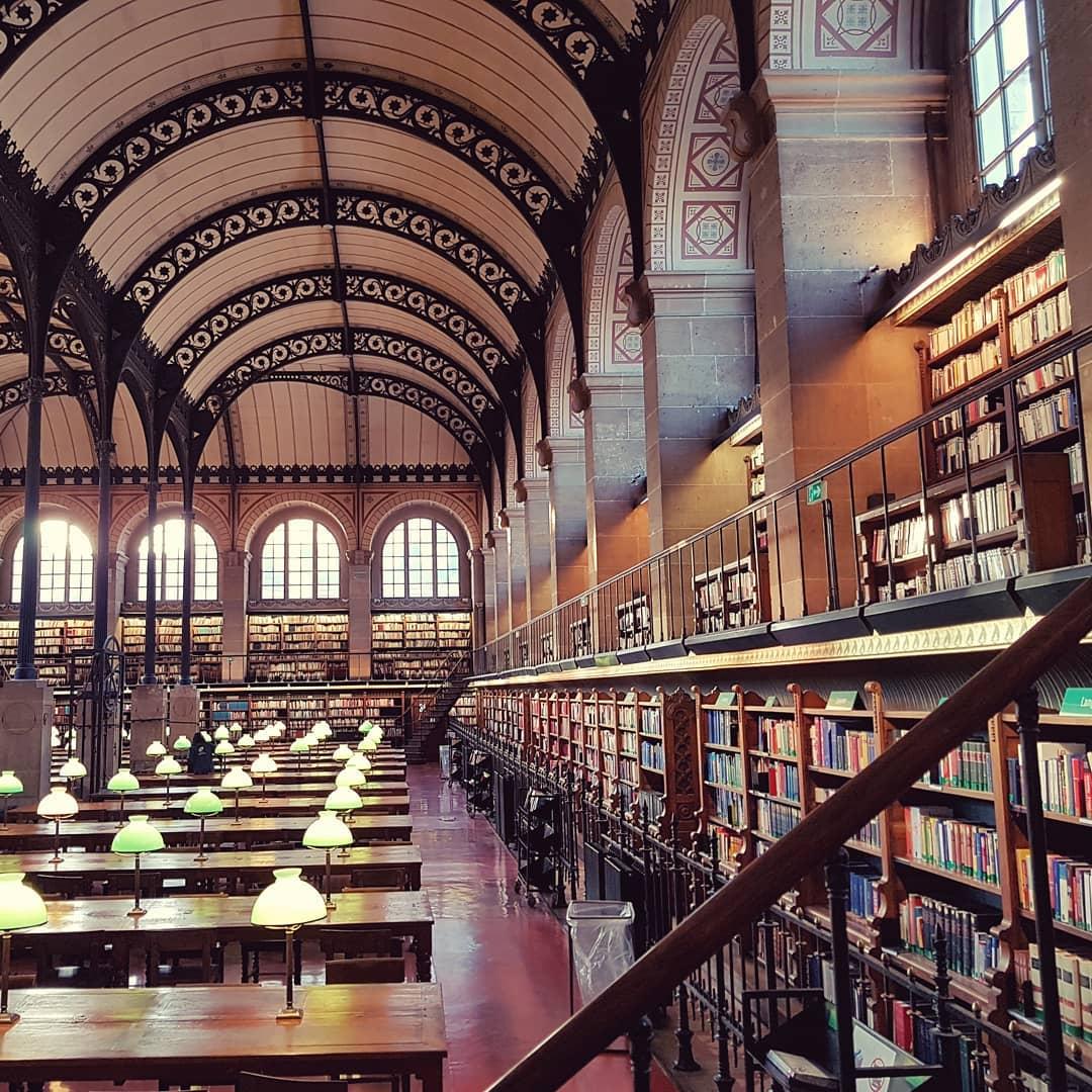Biblioteca Sainte Geneviève 5 credit Biblioteca Sainte Geneviève