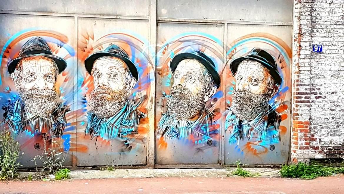 Street art à Roubaix Escapades amoureuses