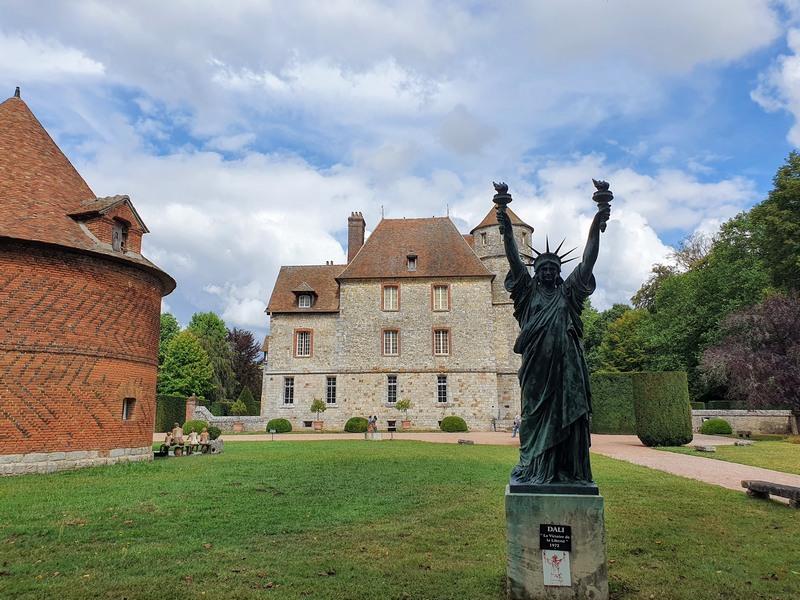 Chateau de Vascoeuil eure normandie