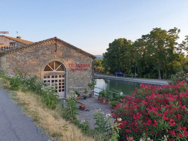 restaurant le Moulin de Trèbes