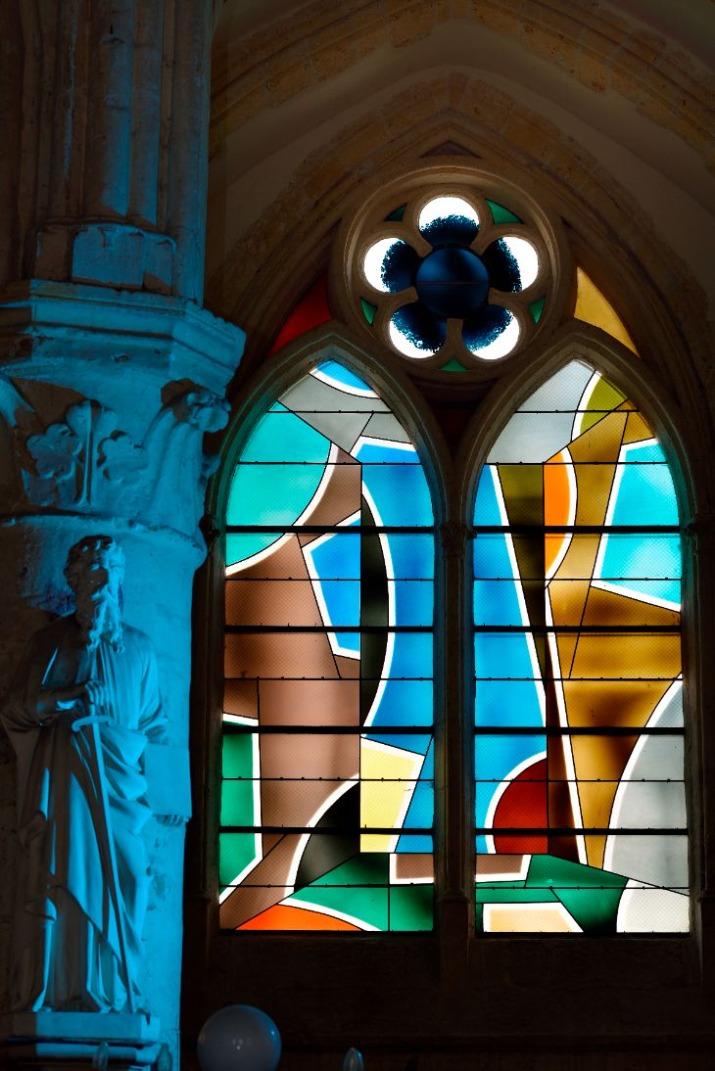 Ouverture de la cité du vitrail à Troyes septembre 2021