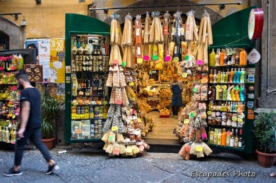 Boutique typique de Naples