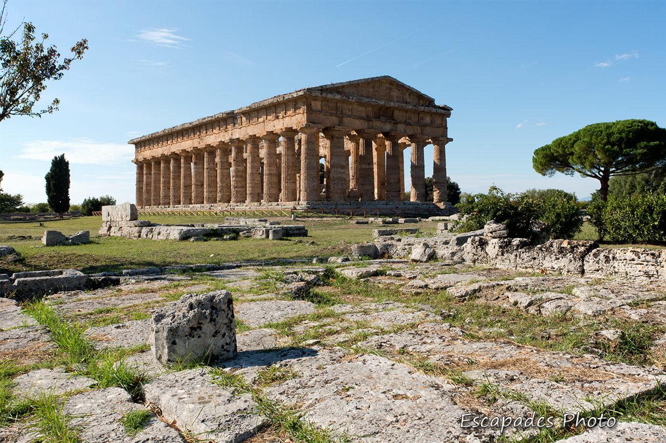 Paestum cité grecque au sud de l'Italie