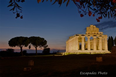 Paestum temple d'Athéna