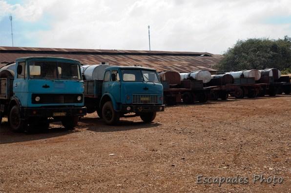 manufacture caoutchouc Chup - camions-citernes