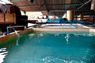 Usine de caoutchouc - Chup - bassins