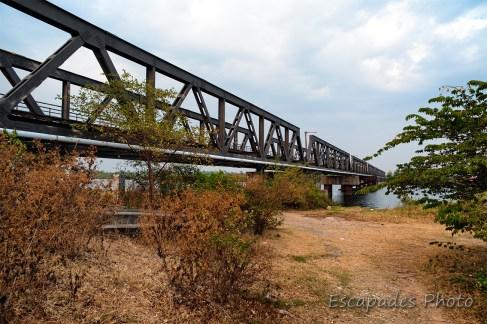 Kampot - Pont de chemin de fer