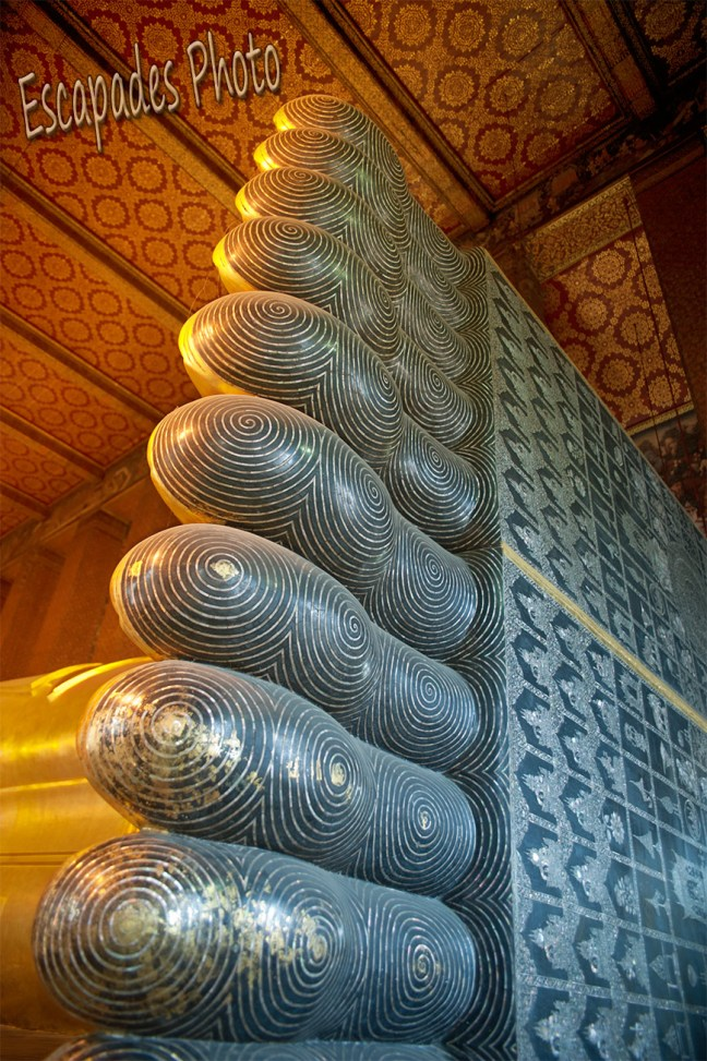 Pied bouddha couché - wat pho