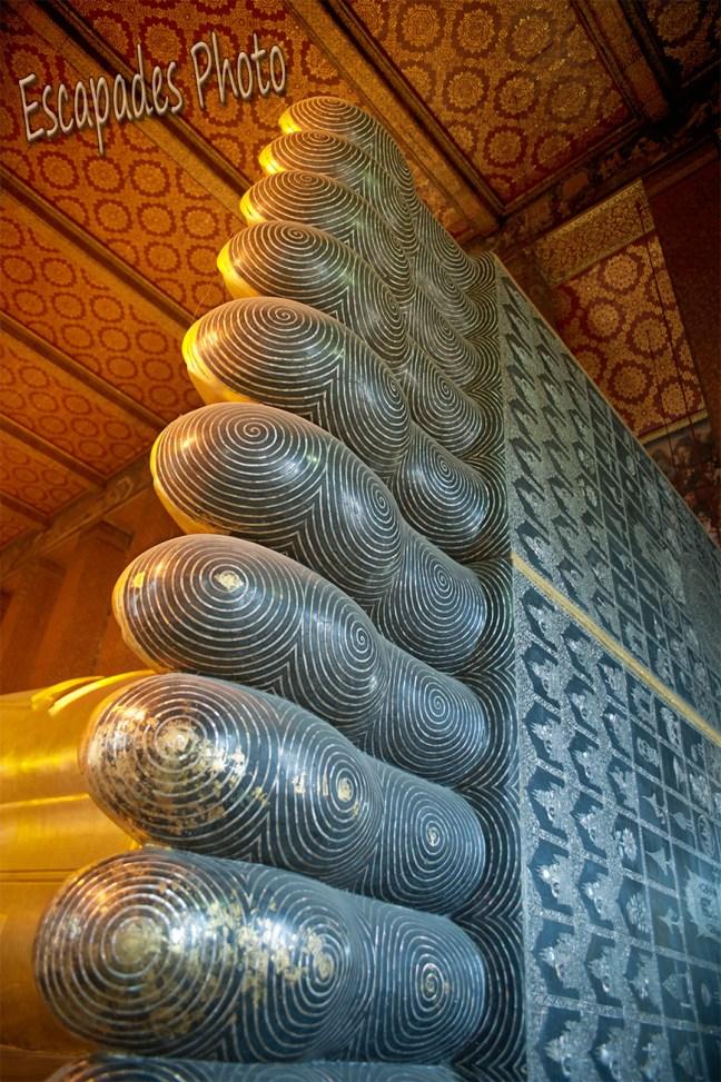 Pied bouddha couché - wat pho