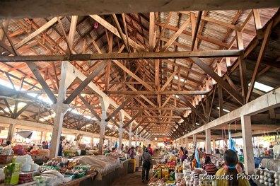 marché couvert de luang namtha