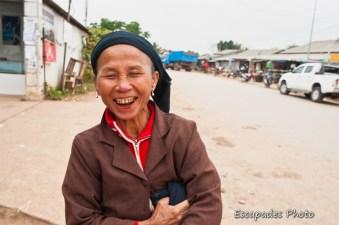Portrait ethnique - marché de luang namtha
