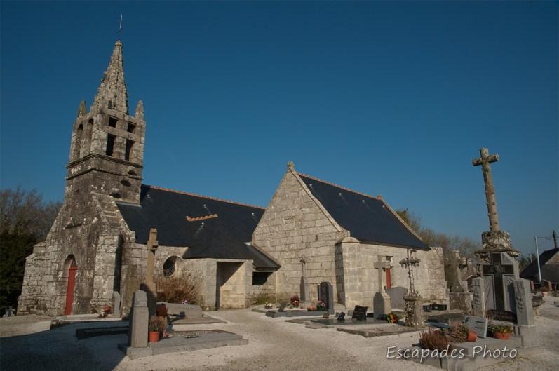 Eglise Saint-Yon à Locuon