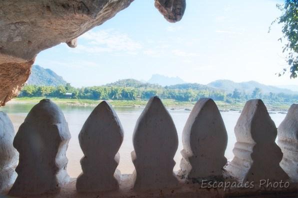 Mékong une vue des grottes de Pak Ou