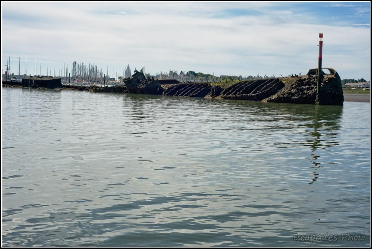 Le Crapaud - coulé face à la base sous marine