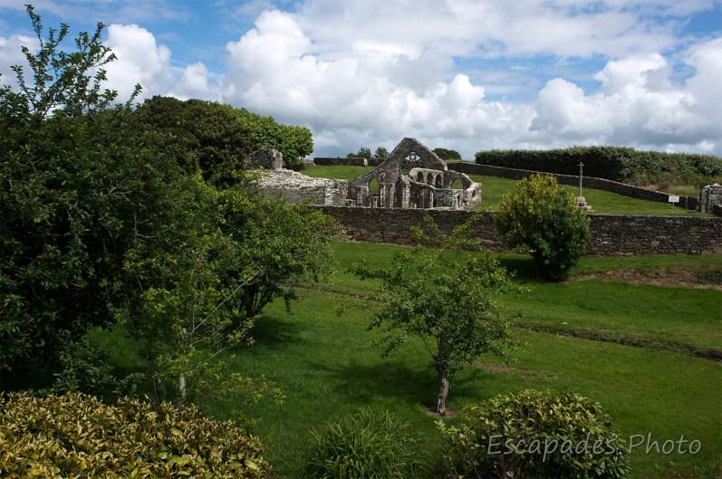 chapelle de Languidou, ruines de la chapelle - vue d'ensemble