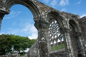 chapelle de Languidou -les arcades et la roscace