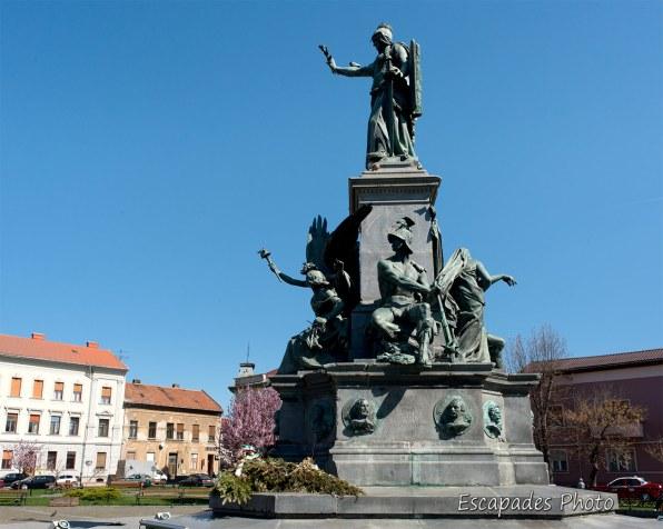 Arad - Parcul Reconcilieri statue de la Liberté