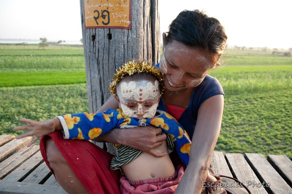 U Bein femme à l'enfant au tanaka