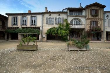 Place Royale - Labastide d'Armagnac