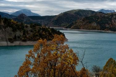 Automne sur le lac de Castillon
