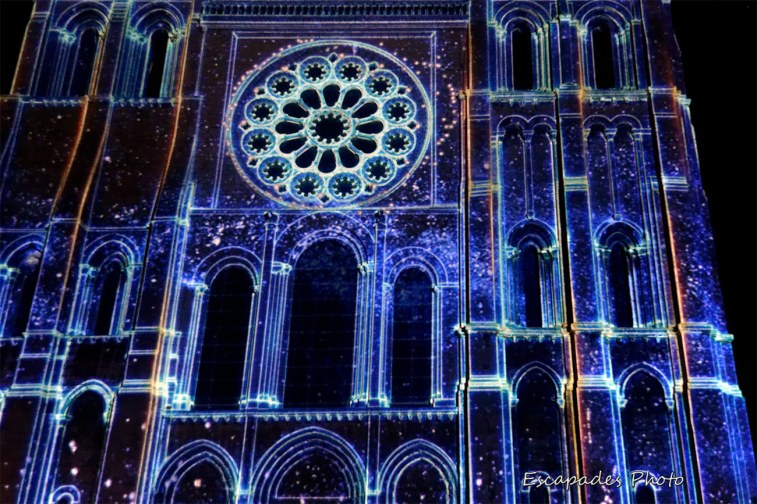 Portail Royal Chartres - Scénographie