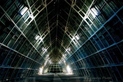 Charpente de la cathédrale de Chartres - la structure