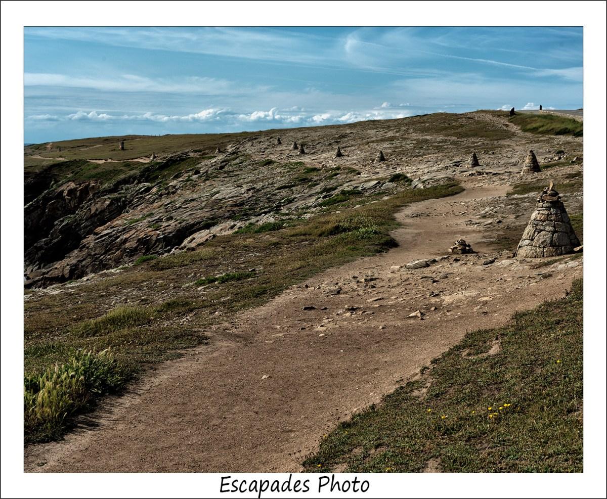 Cairns de la Côte Sauvage à Quiberon